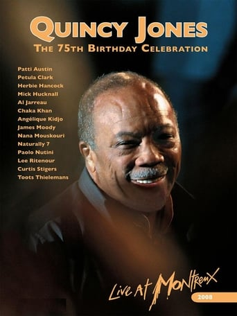Poster of Quincy Jones : 75th Birthday Celebration Live at Montreux