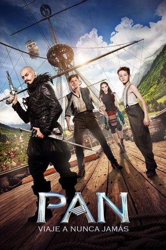 Poster of Pan: Viaje a Nunca Jamás