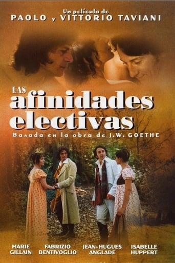 Poster of Las afinidades electivas