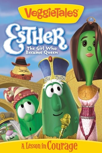 Poster of VeggieTales: Esther...The Girl Who Became Queen