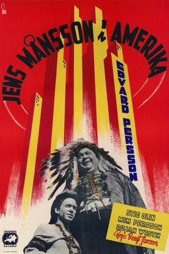 Jens Mons in America Movie Poster