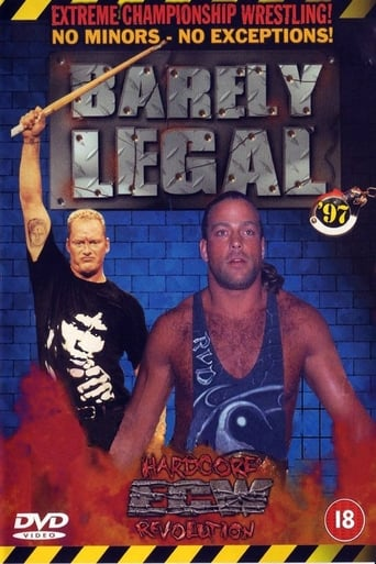 Poster of ECW Barely Legal 1997