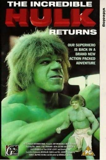 Poster of The Incredible Hulk Returns