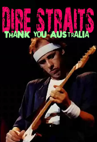 Poster of Dire Straits: Thank You Australia and New Zealand