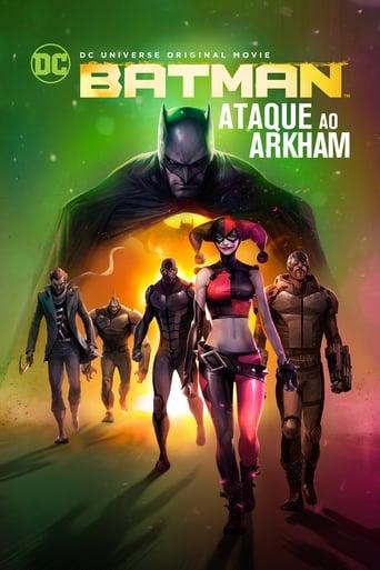 Batman: Assalto em Arkham - Poster