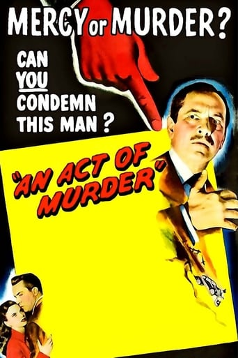 Poster of An Act of Murder