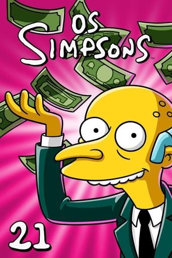 Os Simpsons 21ª Temporada - Poster