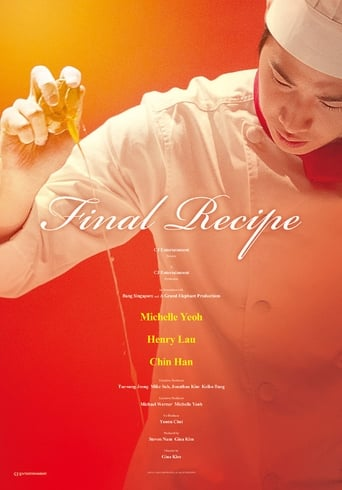 Poster of Final Recipe fragman