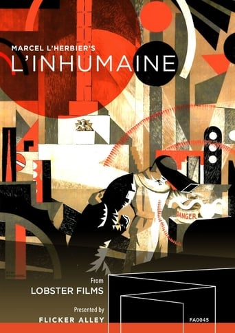 Poster of L'Inhumaine