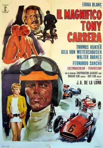 Poster of The Magnificent Tony Carrera
