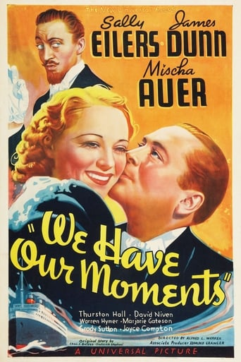 Poster of We Have Our Moments