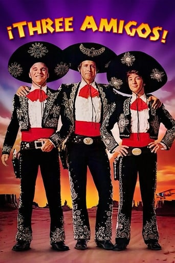 Poster of ¡Three Amigos!