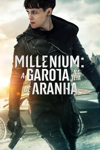 Millennium: A Garota na Teia de Aranha - Poster