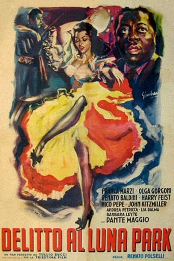 Poster of Delitto al luna park