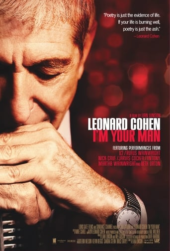 Poster of Leonard Cohen: I'm Your Man