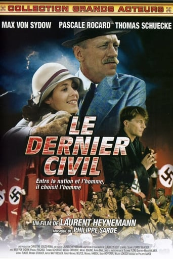 Poster of Le dernier civil