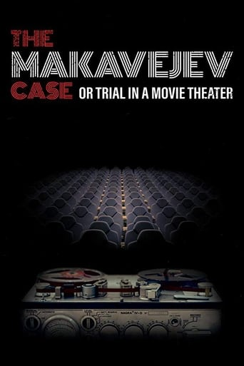 Poster of The Makavejev Case or Trial in a Movie Theater