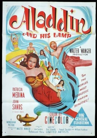 Poster of Aladdin and His Lamp