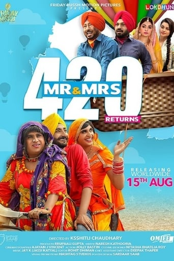 Poster of Mr. & Mrs. 420 Returns