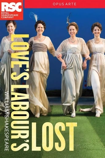 Poster of RSC Live: Love's Labour's Lost