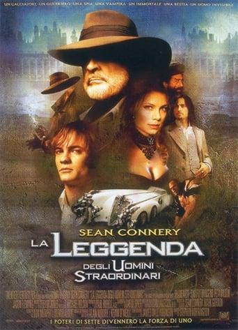 Poster of La leggenda degli uomini straordinari