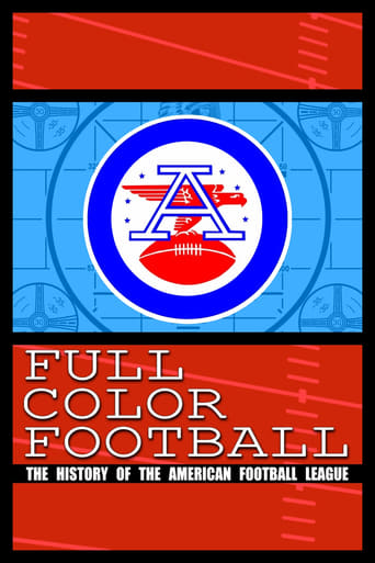 Poster of Full Color Football: The History of the American Football League