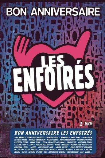 Poster of Les Enfoirés 2014 - Bon anniversaire Les Enfoirés