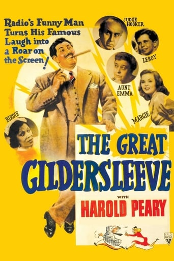 The Great Gildersleeve Movie Poster