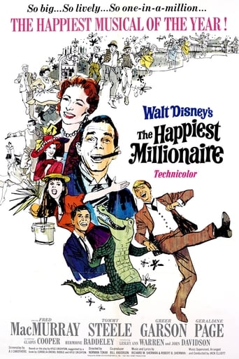 Poster of The Happiest Millionaire