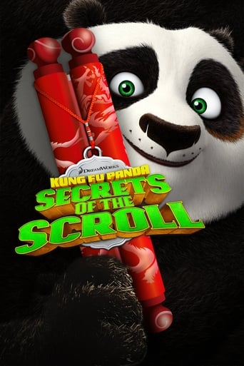 Poster of Kung Fu Panda: Secrets of the Scroll