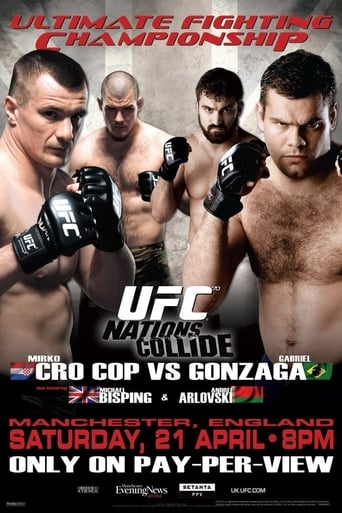 Poster of UFC 70: Nations Collide