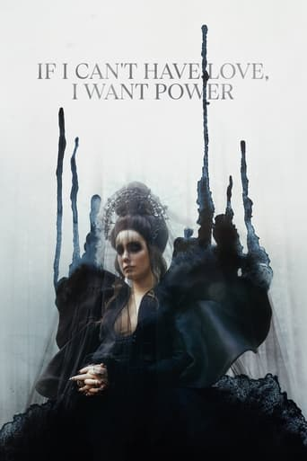 If I Can't Have Love, I Want Power Poster