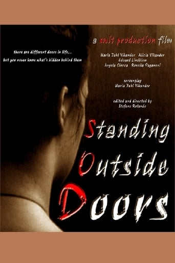 Poster of Standing Outside Doors
