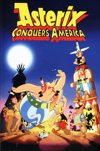 Poster for Asterix Conquers America