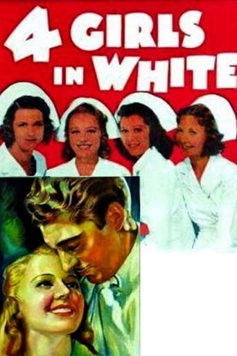 Poster of Four Girls in White