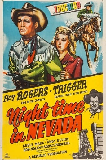 poster of Night Time in Nevada