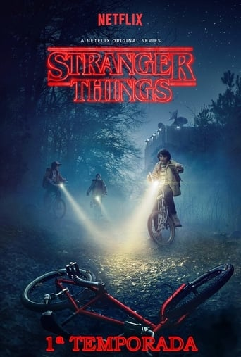 Stranger Things 1ª Temporada - Poster