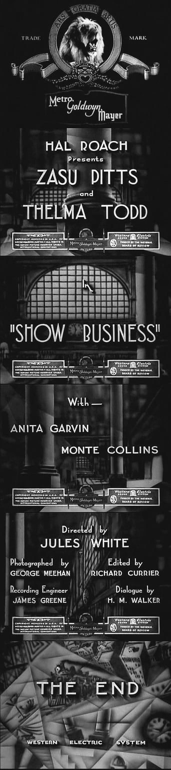 Poster of Show Business