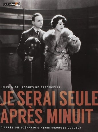 Watch Je serai seule après minuit full movie online 1337x