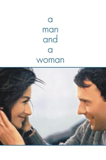 Poster of A Man and a Woman