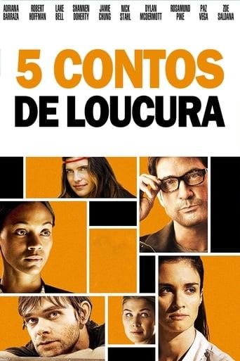 5 Contos De loucura - Poster