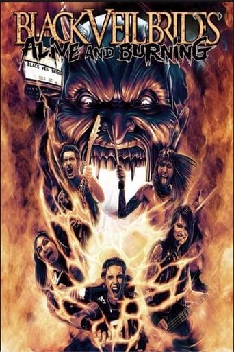 Black Veil Brides: Alive and Burning poster