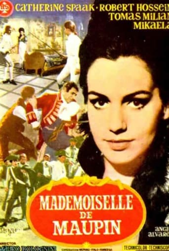 Poster of Mademoiselle de Maupin