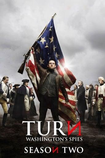Posūkis / TURN: Washington's Spies (2015) 2 Sezonas EN žiūrėti online