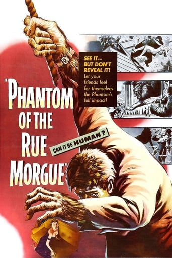 Poster of Phantom of the Rue Morgue