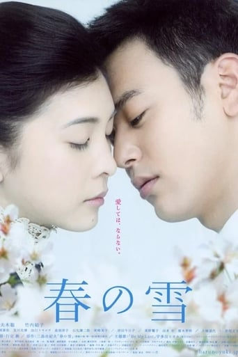 Poster of Snowy Love Fall in Spring