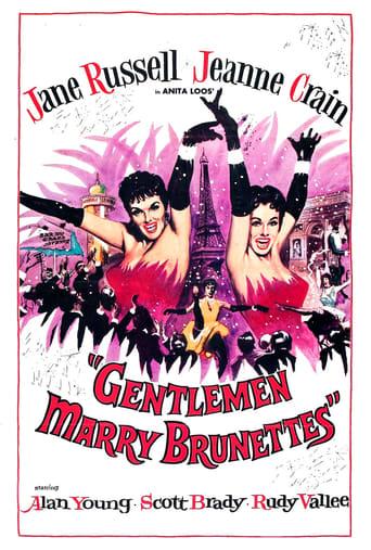 Poster of Gentlemen Marry Brunettes