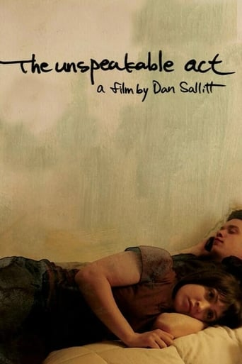 Poster of The Unspeakable Act