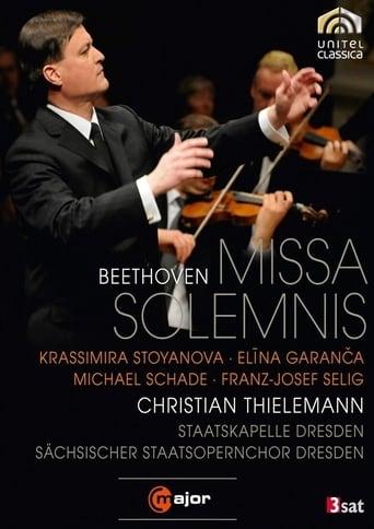 Poster of Beethoven · Missa Solemnis (Staatskapelle Dresden, Christian Thielemann)