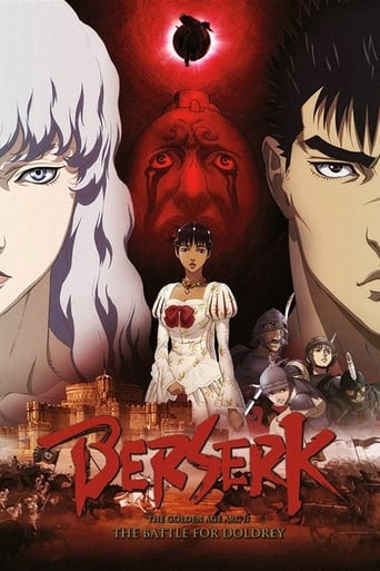 Berserk: The Golden Age Arc II - The Battle for Doldrey Poster